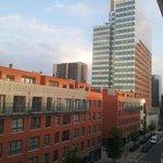 Aussicht aus dem 4.Stock