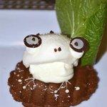 Icecream frog dessert (last dish of ten)