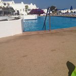 View from sun bed :)