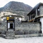 Front View of Hotel Om's Home Jomsom