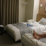 Comfortable twin bed room