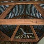 los techos del bungalow