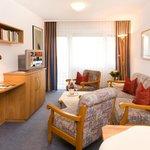 Wohnbeispiel Wohnzimmer Komfort-Appartement