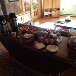 Breakfast at Stowe Inn