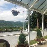 From the veranda