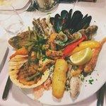Seafood Starter Mixed Platter, 18 euros