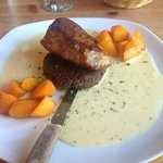 Pork with leek sauce