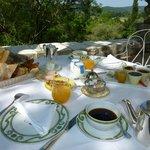 le petit déjeuner: un vrai régal