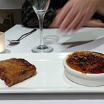 Creme Brulee with french toast