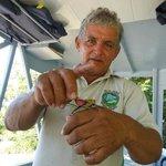 river boat guide Antonio