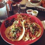 loaded veggie tacos