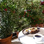 Petite terrasse avec son jasmin enivrant !