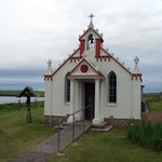 The beautiful Italian Chapel in the Orkneys