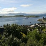 "Go to the ""Coliseum"" on top of the hill overlooking Oban.  Gorgeous views"