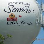 Large Golf Ball sign