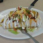 Huge burritos