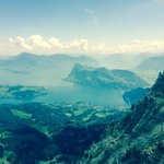 on top of Pilatus