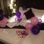 Honeymoon decorations