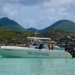 Our vessel, La Bonne Vie