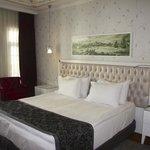 King bed in standard room