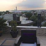 Little Aya Sofya viewed from rooftop terrace