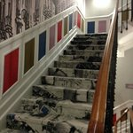 Lovely decor - hallway/stairs