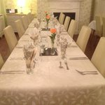 New dining room function evening supper