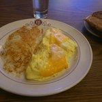 Omelette au petit déjeuner
