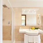 bagno della camera doppia con o senza balcone