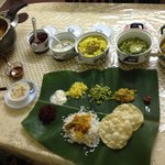Jasmine taught me how to cook south indian veg meals.