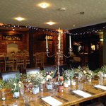 Intimate wedding in private dining room