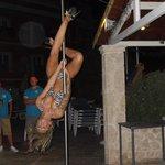 Pole Dancer BBQ night