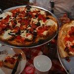 Pizzas (1 large, 1 medium)