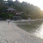resort visto dalla spiaggia