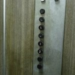 the old-skool lift buttons