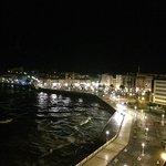 Vista noturna do Atico para a Cidade Velha! Deslumbrante!