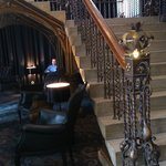 stairscase near reception