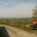 Panorama dalla casa