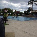 Pool in kolea. Towels provided