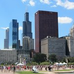 Grant Park during Lollapalooza