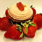 Strawberry cheesecake feature