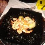 Les crevettes j'en veux encore hihihi