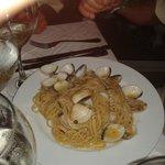 Le spaghetti aux palourdes