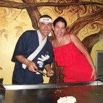 restaurant japonais avec Charly
