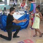 animation magicien pour enfants au lobby