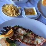 Jumbo tiger prawn! Delicious!!