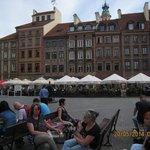 uma praca de Varsovia