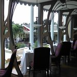 View inside Baccarat (French restaurant)