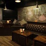 Cozy indoor seating