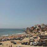 вид из номера на пляж